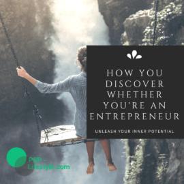 How you discover whether you're an entrepreneur