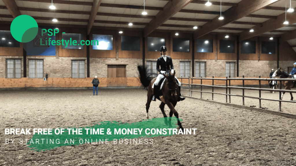 How PSP-Lifestyle helps equestrians with lack of time